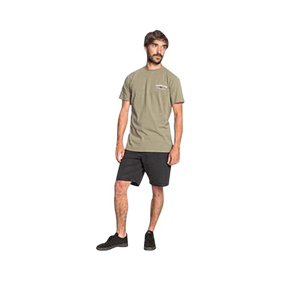 Quiksilver Waterman Men's Pacific Road Tee Green S, Green, bcf_hi-res