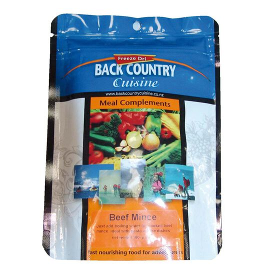 Back Country Beef Mince Freeze Dried Food 5 Serves, , bcf_hi-res