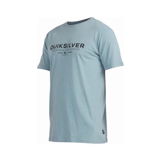 Quiksilver Waterman Men's Ocean Spray Short Sleeve Tee, Citadel Blue, bcf_hi-res