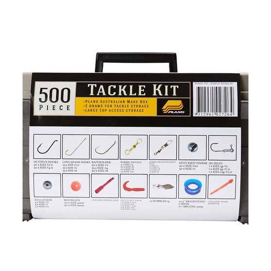 Plano Tackle Kit 500 Piece, , bcf_hi-res