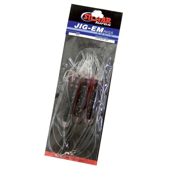 Silstar Jig-em Rig Black / Purple, Black / Purple, bcf_hi-res