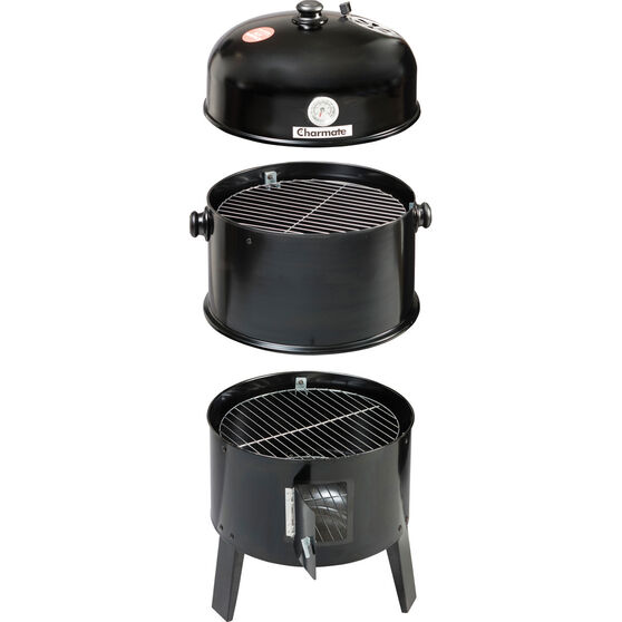 Charmate Charcoal Smoker and Grill, , bcf_hi-res
