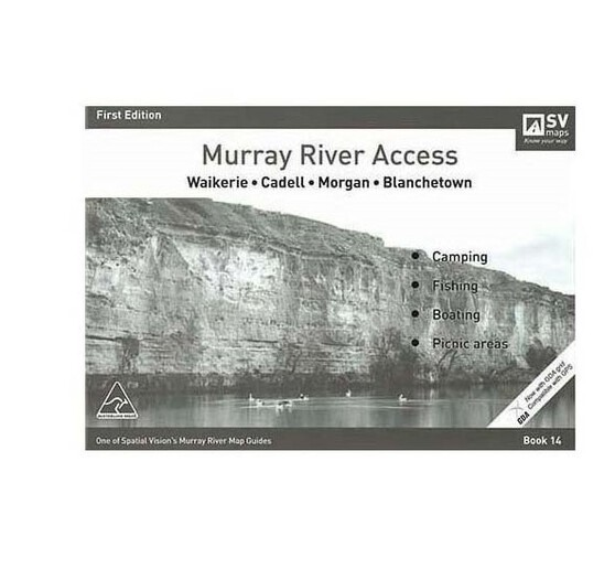 AFN Murray River Access Map 14 Waikerie to Blanchetown, , bcf_hi-res