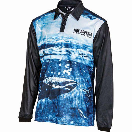 Tide Apparel Men's Storm V2 Fishing Jersey, Pattern, bcf_hi-res