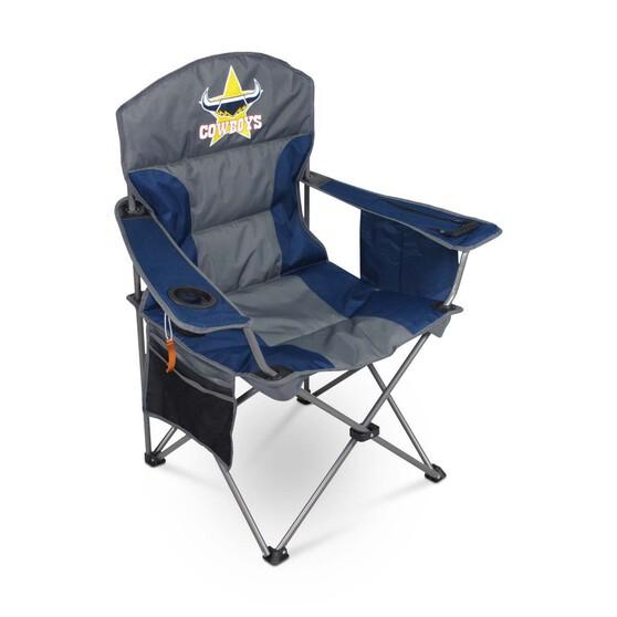 NRL North Queensland Cowboys Camp Chair, , bcf_hi-res