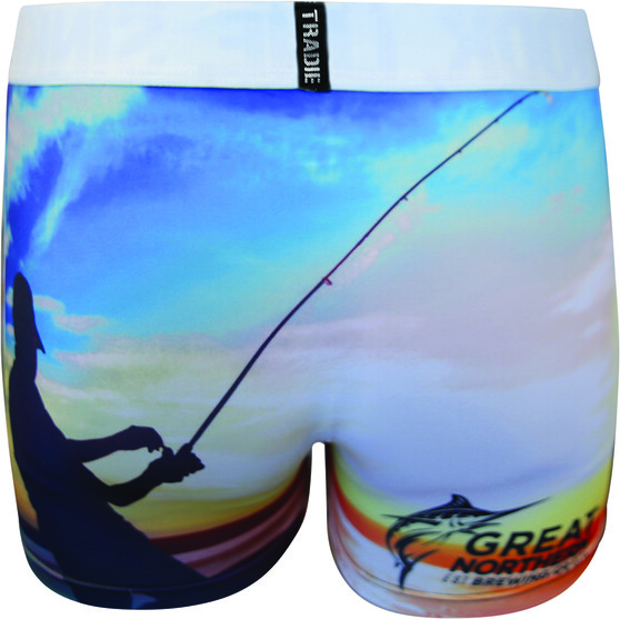 The Great Northern Brewing Co Men's Beachy Trunk, Print, bcf_hi-res