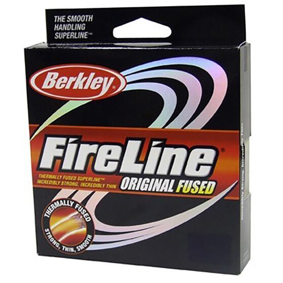 Berkley Fireline Original Braid Line 125yds, Green, bcf_hi-res