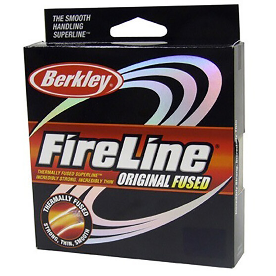 Berkley Fireline Original Braid Line 125yds, Smoke, bcf_hi-res