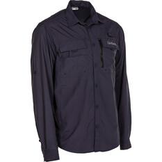 Daiwa Men's Long Sleeve Fishing Shirt Graphite S, Graphite, bcf_hi-res