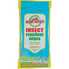Insect Repellent Wipes 20 Pack, , bcf_hi-res