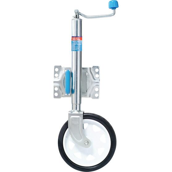 ARK Premium Swing 10in Single Jockey Wheel - Clamp, , bcf_hi-res