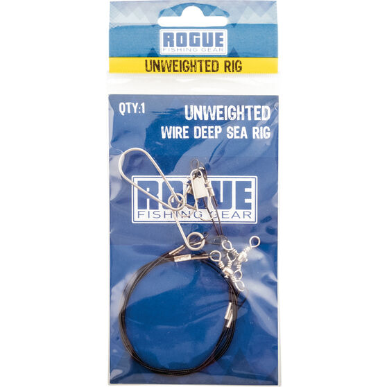 Rogue Unweighted Wire Deep Sea Rig, , bcf_hi-res
