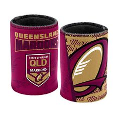 QLD Maroons State of Origin 2019  Stubby Holder, , bcf_hi-res