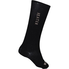 XTM Performance Unisex Heater Socks Black 6 - 10, Black, bcf_hi-res