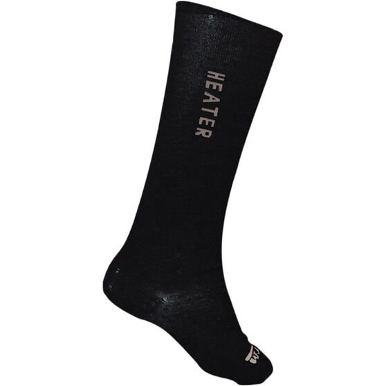 XTM Performance Unisex Heater Socks, Black, bcf_hi-res