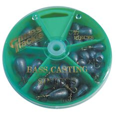 Gillies Bass Sinker - Dial Pack, , bcf_hi-res