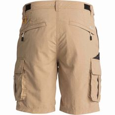 Men's Skipper Shorts Khaki 34, Khaki, bcf_hi-res