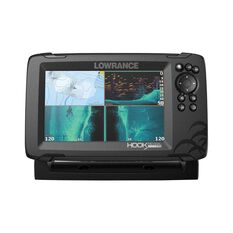 Lowrance Hook Reveal 7 Fish Finder Combo with Triple Shot Transducer, , bcf_hi-res