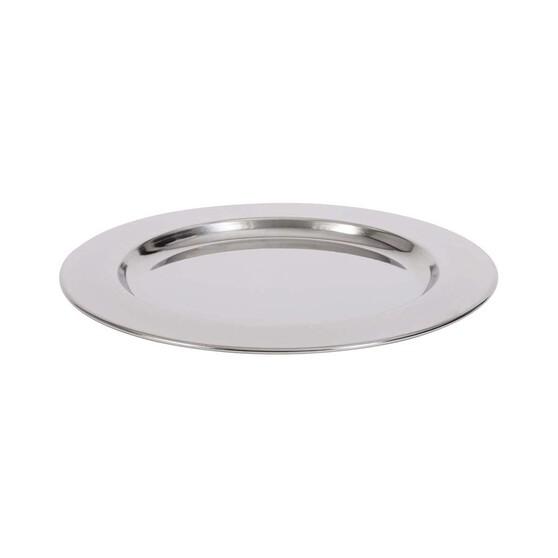 Wanderer Stainless Steel Plate 24cm, , bcf_hi-res