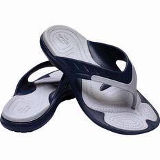 Crocs Men's Modi Sport Flip Navy/Light Grey 7, , bcf_hi-res