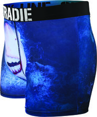 Tradie Men's Smiling Shark Trunk, Print, bcf_hi-res