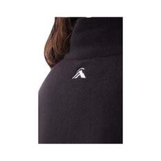 Macpac Women's Tui Fleece Pullover, Black, bcf_hi-res