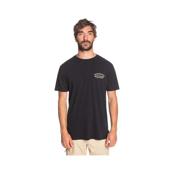 Quiksilver Waterman Men's Kingfisher Tee, Black, bcf_hi-res