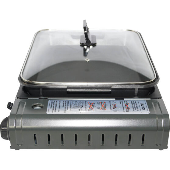 Butane Stove with Inset Cooking Pan 1 Burner, , bcf_hi-res