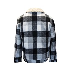 Tradie Men's Lumber Jacket, Monotone Check, bcf_hi-res
