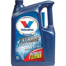 Valvoline Outboard Oil 2 Stroke 5L, , bcf_hi-res