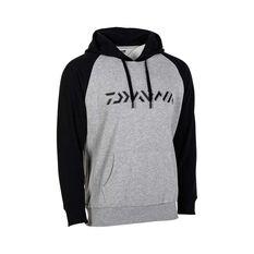 Daiwa Men's Hooded Sweater Grey Marle S, Grey Marle, bcf_hi-res