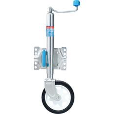 ARK Premium Swing 8in Single Jockey Wheel - Clamp, , bcf_hi-res