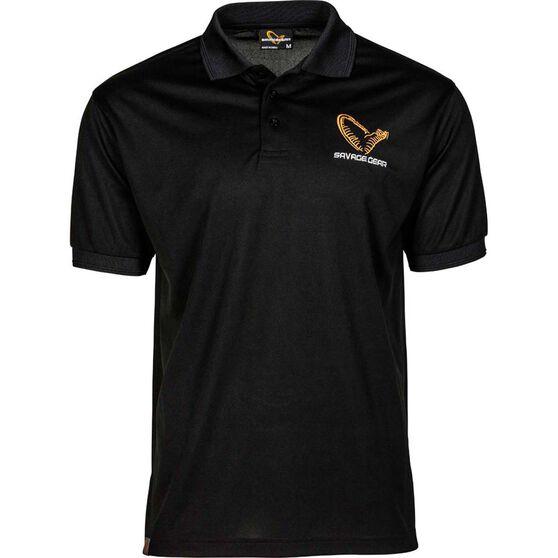 Savage Men's Simply Savage Polo Shirt Black S, Black, bcf_hi-res