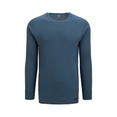 Macpac Men's Geothermal Long Sleeve Real Teal S, Real Teal, bcf_hi-res