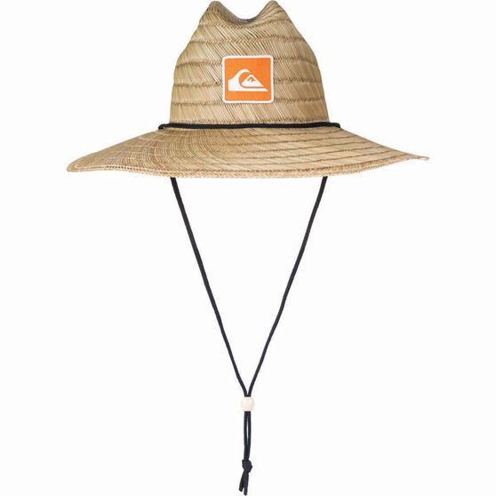 Quiksilver Unisex Top Tier Straw Hat, Natural, bcf_hi-res