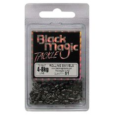 Black Magic Rolling Swivel 51 Pack, , bcf_hi-res