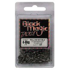 Black Magic Rolling Swivel 51 Pack, , bcf_hi-res