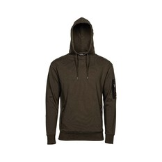 National Geographic Men's Fleece Hoodie Khaki S, Khaki, bcf_hi-res