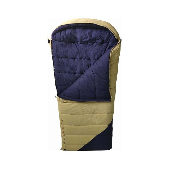 Wanderer Grand Macquarie Cotton Hooded -2.7C Sleeping Bag, , bcf_hi-res