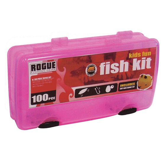 Rogue Kids' Tackle Kit Pink, Pink, bcf_hi-res