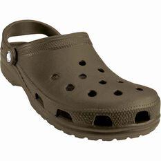 Crocs Unisex Classic Sandals Chocolate M6 / W8, Chocolate, bcf_hi-res