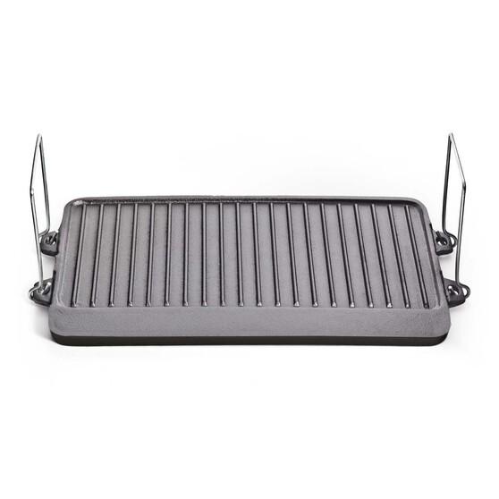 Campfire Cast Iron 2 Burner Cooker Plate, , bcf_hi-res