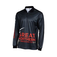 The Great Northern Men's Sublimated Polo Dark Grey S, Dark Grey, bcf_hi-res