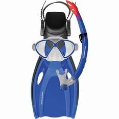 Mirage Junior Comet Snorkelling Set Blue S, Blue, bcf_hi-res
