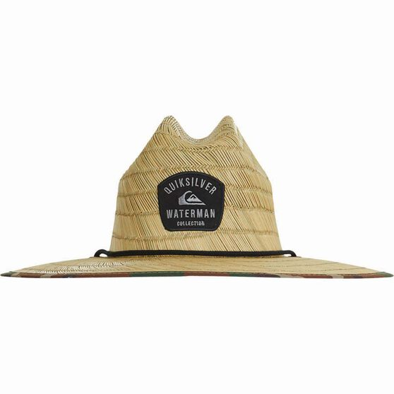 Quiksilver Men's Outsider Straw Hat Dark Forest L / XL Men's, Dark Forest, bcf_hi-res