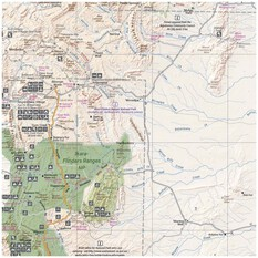 Hema Flinders Ranges Map (6th edition), , bcf_hi-res