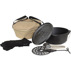 All 4 Adventure 7.5QT Cast Iron 6pc Set, , bcf_hi-res