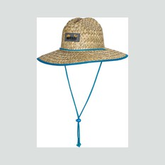 Savage Gear Youth Straw Hat Natural / Blue 52, Natural / Blue, bcf_hi-res