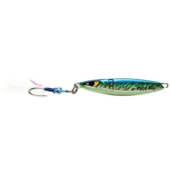 Mustad Zippy Jig Lure 60g Yellow Fin Tuna, Yellow Fin Tuna, bcf_hi-res