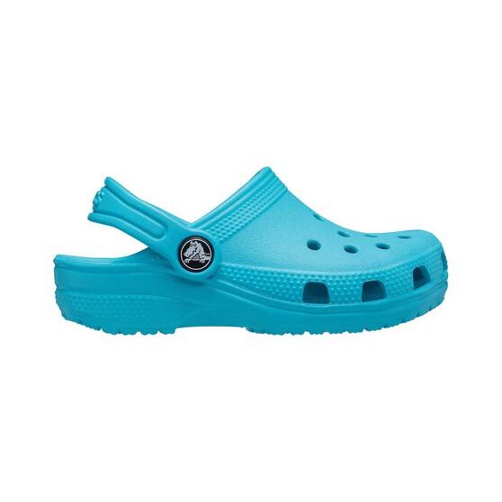 Crocs Classic Kids' Clogs, Digital Aqua, bcf_hi-res